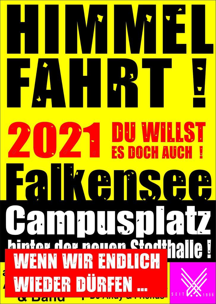 Himmelfahrt Plakat 2021